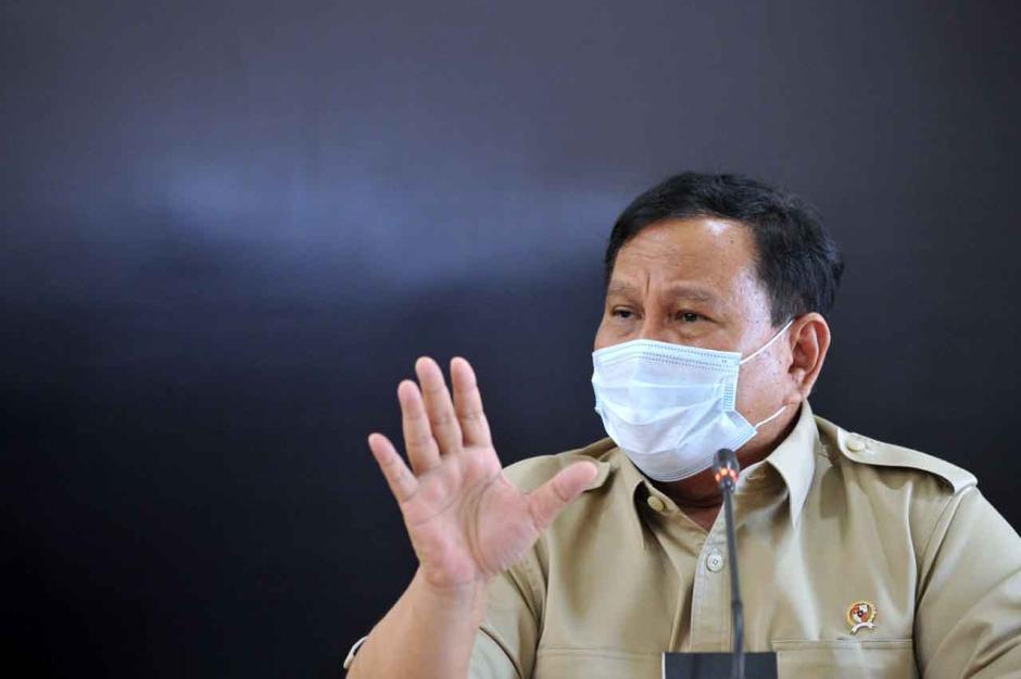Menhan Prabowo Beri Keterangan Terkait Hilangnya KRI Nanggala 401-2