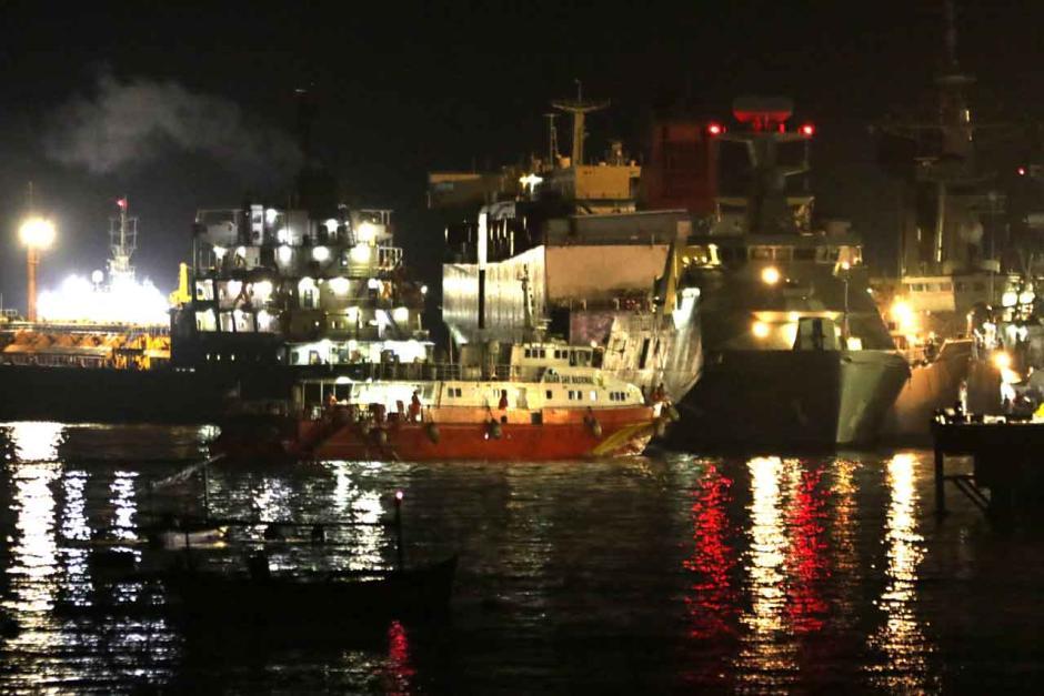 Kapal SAR Antasena 234 Dikerahkan Mencari KRI Nanggala-0