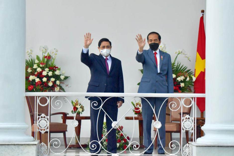 Presiden Joko Widodo Gelar Pertemuan Bilateral dengan PM Vietnam Pham Minh Chinh-3