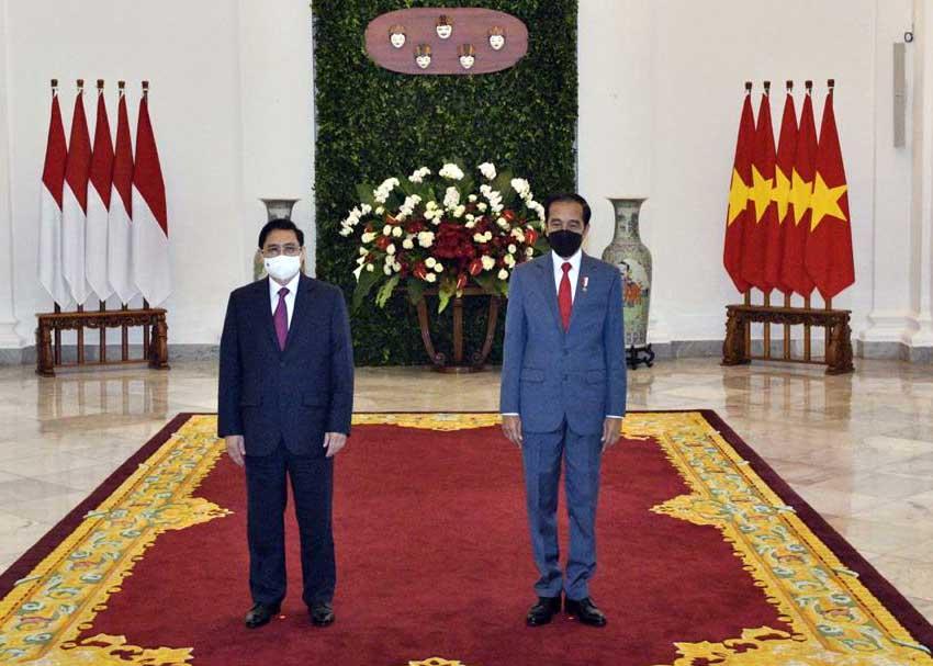 Presiden Joko Widodo Gelar Pertemuan Bilateral dengan PM Vietnam Pham Minh Chinh-2