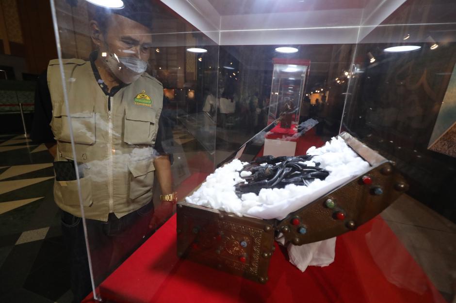 40 Artefak Peninggalan Nabi Muhammad dan Sahabat Dipamerkan di JIC-4