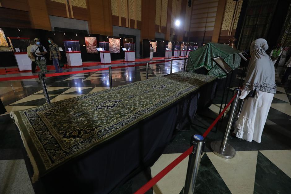 40 Artefak Peninggalan Nabi Muhammad dan Sahabat Dipamerkan di JIC-2