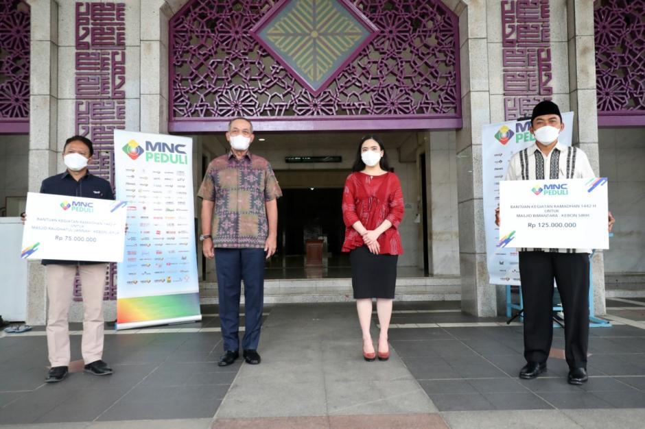 MNC Peduli Salurkan Bantuan untuk Masjid Bimantara dan Masjid Raudhatul Jannah RCTI-2