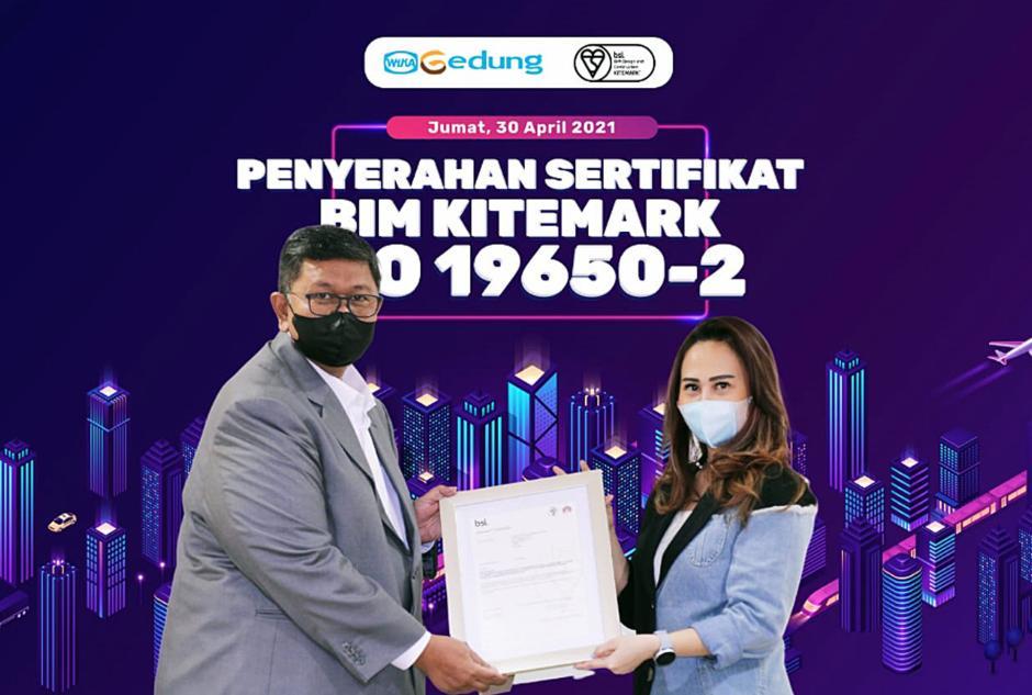 WEGE Kantongi Sertifikat BIM ISO 19650-1 Kitemark dan 19650-2 Kitemark-0