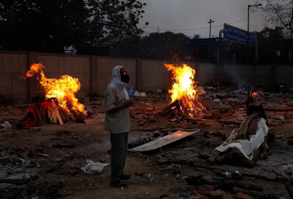 Teror Covid-19 di India Makin Mencekam, Rekor Kasus Baru 401.993 dengan 3.523 Kematian-2