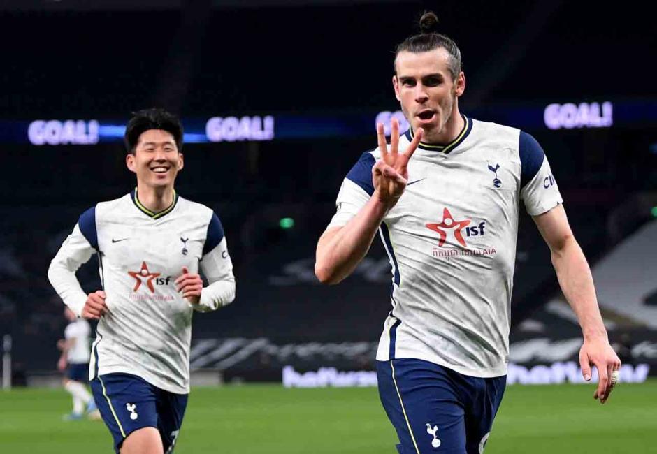 Bale Hattrick, Tottenham Pesta Gol-4
