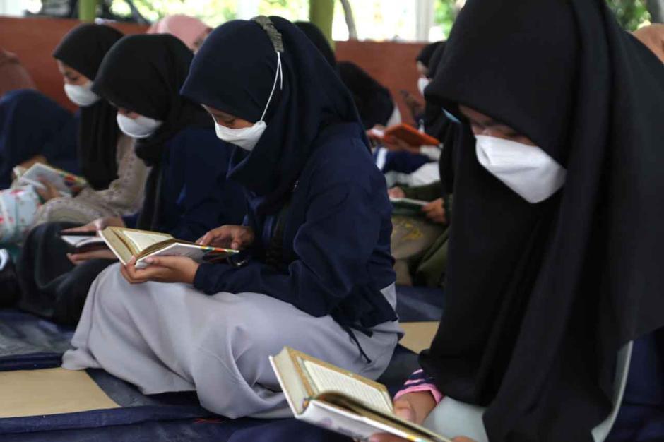 Siswa Sekolah Islam SHAFTA Ditarget Hafal 10 Juzz Saat Kelulusan-1