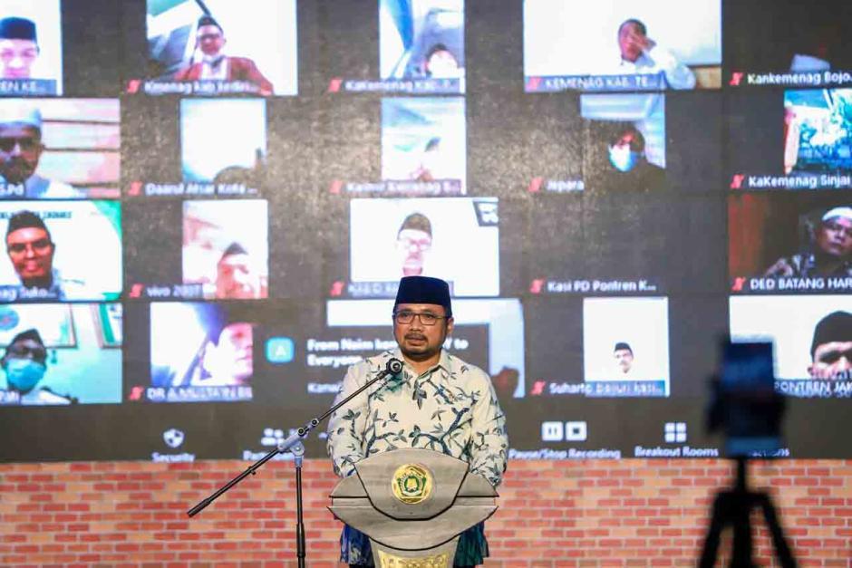 Menteri Agama Resmikan Peta Jalan Kemandirian Pesantrean di Jakarta-2