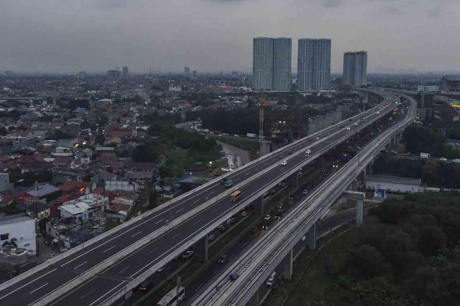 Rencana Penutupan Sementara Tol Layang MBZ Selama Larangan Mudik-1
