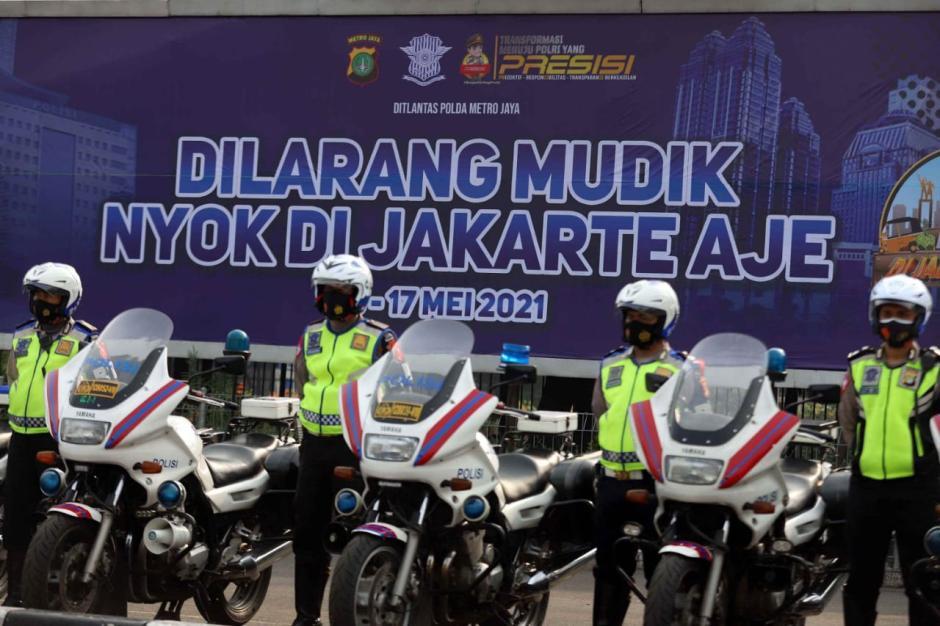 Polda Metro Jaya Gelar Operasi Ketupat 2021-5