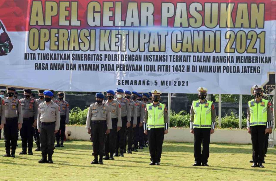 Polda Jateng Gelar Operasi Ketupat Candi-3