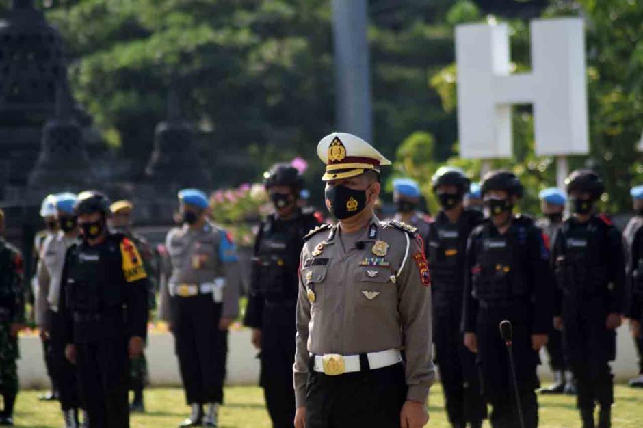 Polda Jateng Gelar Operasi Ketupat Candi-4