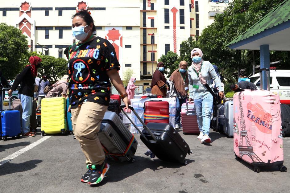 Tiba di Tanah Air, 34 Pekerja Migran Indonesia Positif Covid-19-2