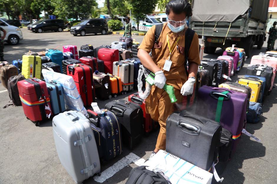 Tiba di Tanah Air, 34 Pekerja Migran Indonesia Positif Covid-19-1