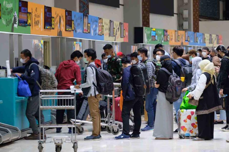 H-1 Larangan Mudik, Bandara Soeta Mengalami Peningkatan-2