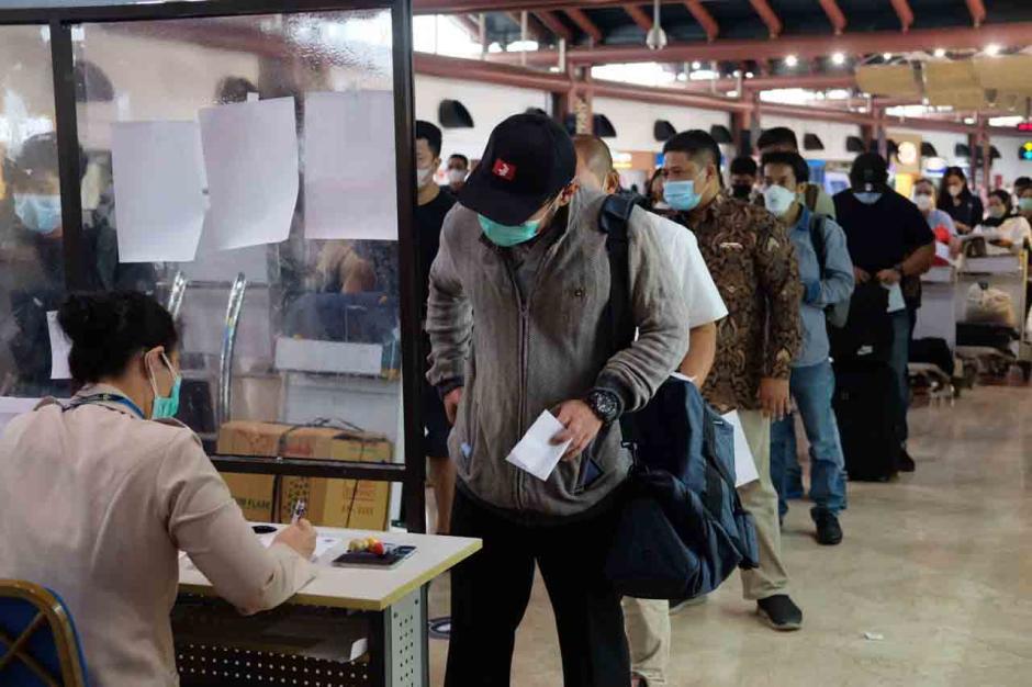 H-1 Larangan Mudik, Bandara Soeta Mengalami Peningkatan-0