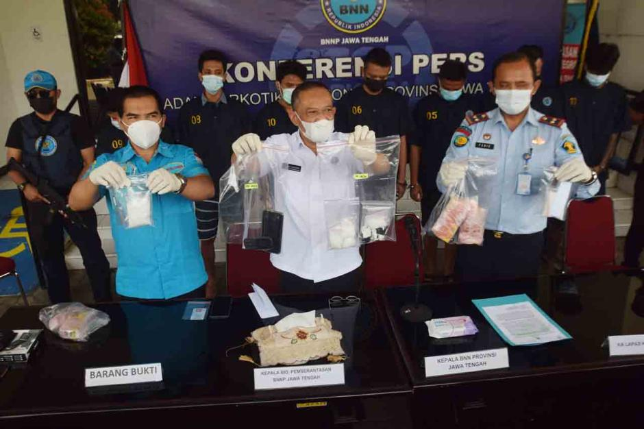 Gagalkan Peredaran Sabu Jelang Lebaran, BNNP Jateng Bekuk Komplotan Sindikat Narkotika-4