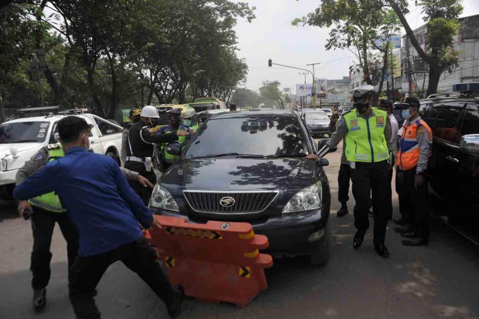 Antisipasi Mudik, Lima Posko Disiagakan di Perbatasan Palembang-1
