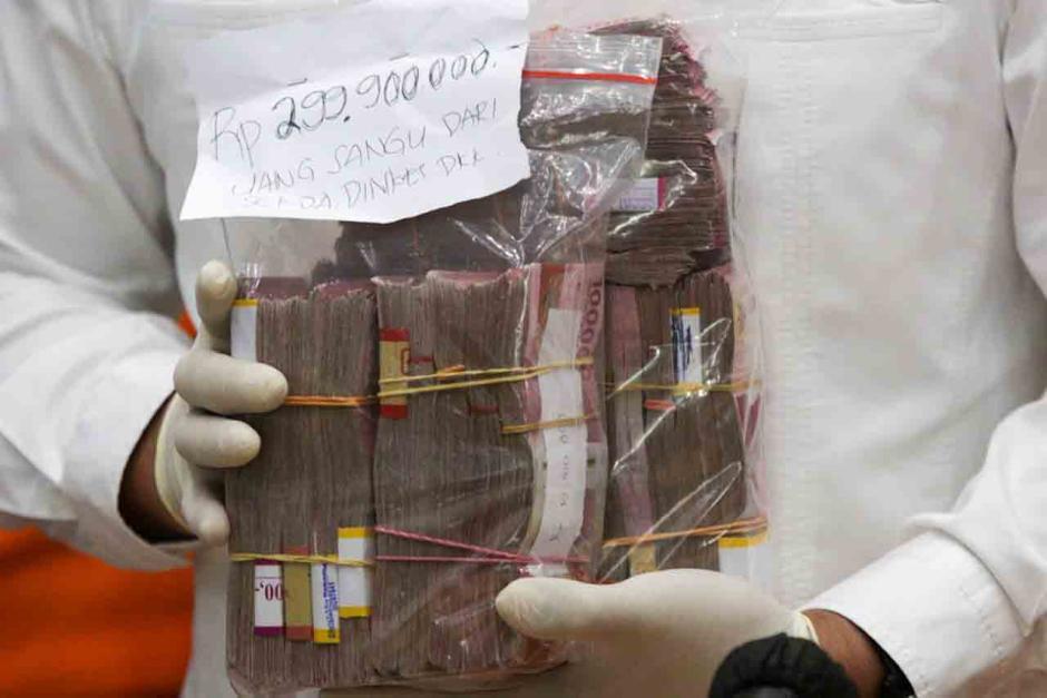 Ditetapkan Tersangka, Bupati Nganjuk Ditahan di Bareskrim Polri-1