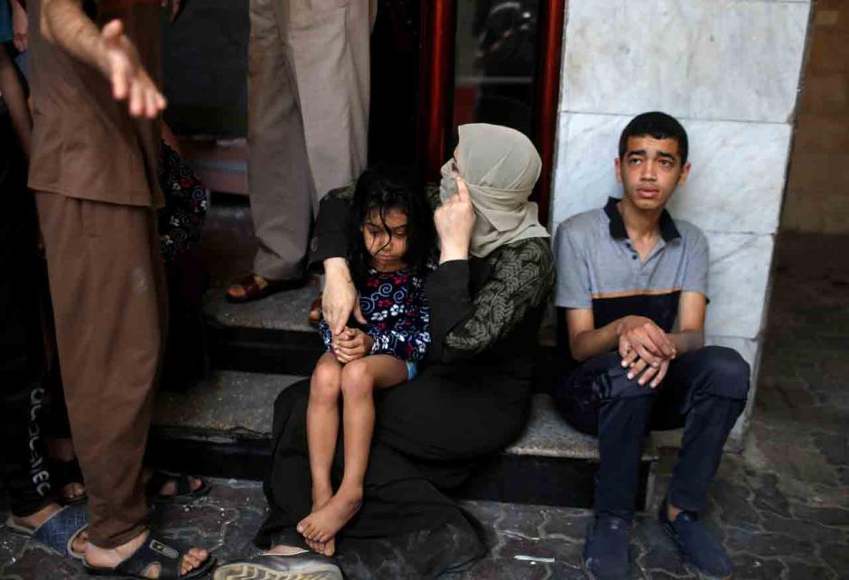 Tangis Pilu Rakyat Palestina di Penghujung Ramadhan Usai Dibombardir Israel-6