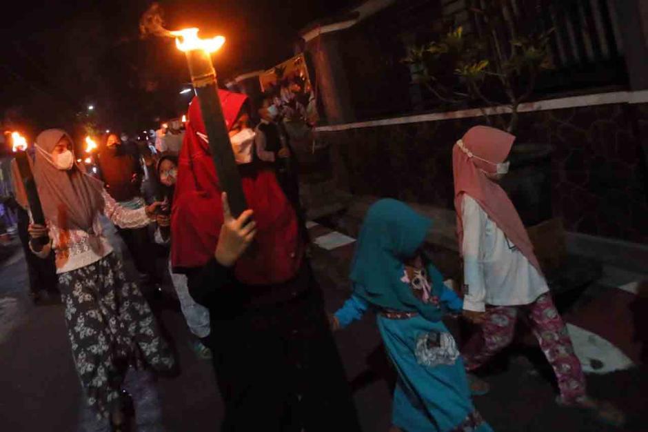 Tradisi Takbiran Keliling Sambut Idul Fitri 1442 H-1