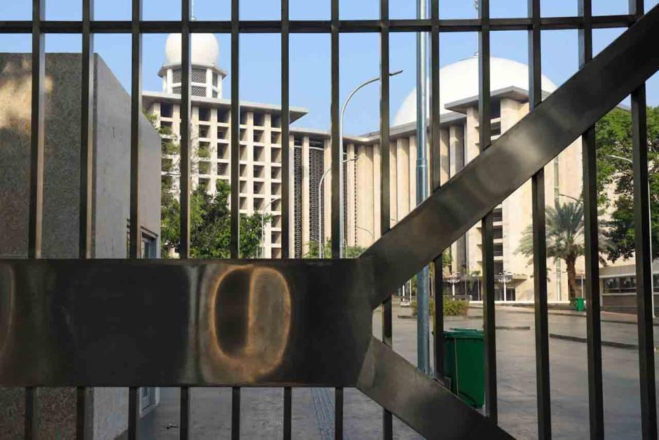Masjid Istiqlal Tidak Menggelar Sholat Idul Fitri-1