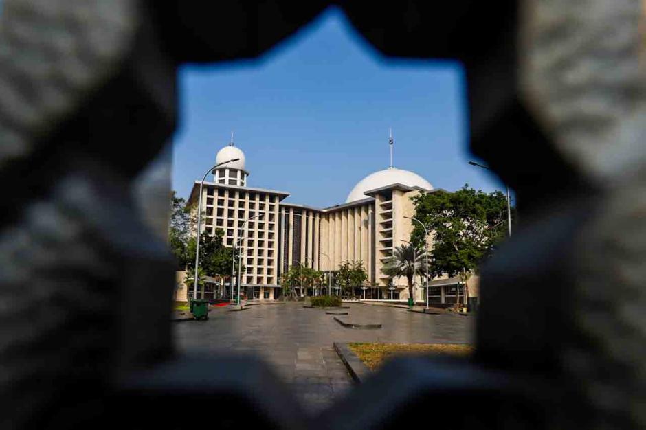Masjid Istiqlal Tidak Menggelar Sholat Idul Fitri-4