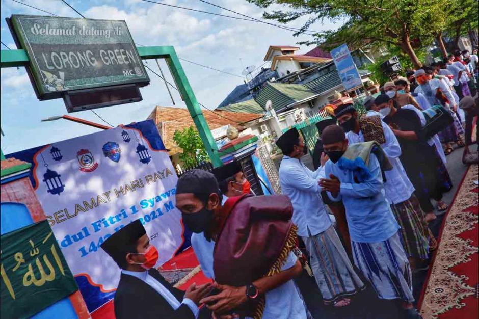 Walikota Makassar Gelar Sholat Ied Bersama Warga-2