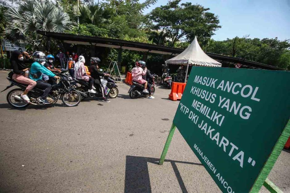 Hari Kedua Lebaran, 39.000 Wisatawan Serbu Taman Impian Jaya Ancol-1