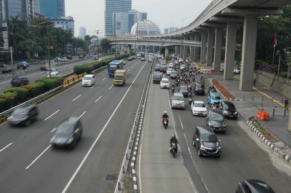 Jalanan Ibukota Masih Lancar Usai Libur Lebaran-1