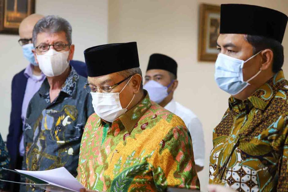 Dukung Kedaulatan Palestina, Ketua Umum PBNU Temui Dubes Palestina untuk Indonesia-4