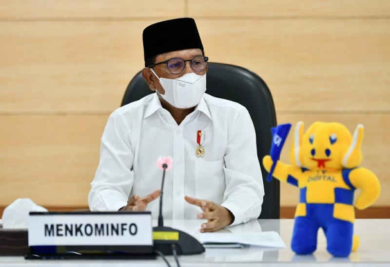 Lebaran Digital Keren, Menteri Johnny: Tidak Mudik, Tak Kurangi Nilai Silaturahmi-3
