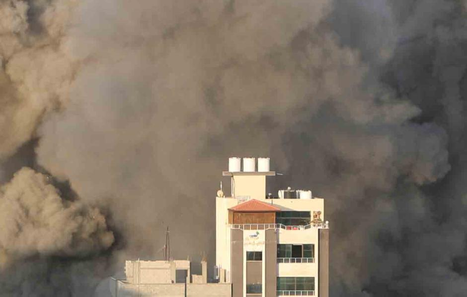 Israel Kembali Bombardir Palestina Pagi Ini-1