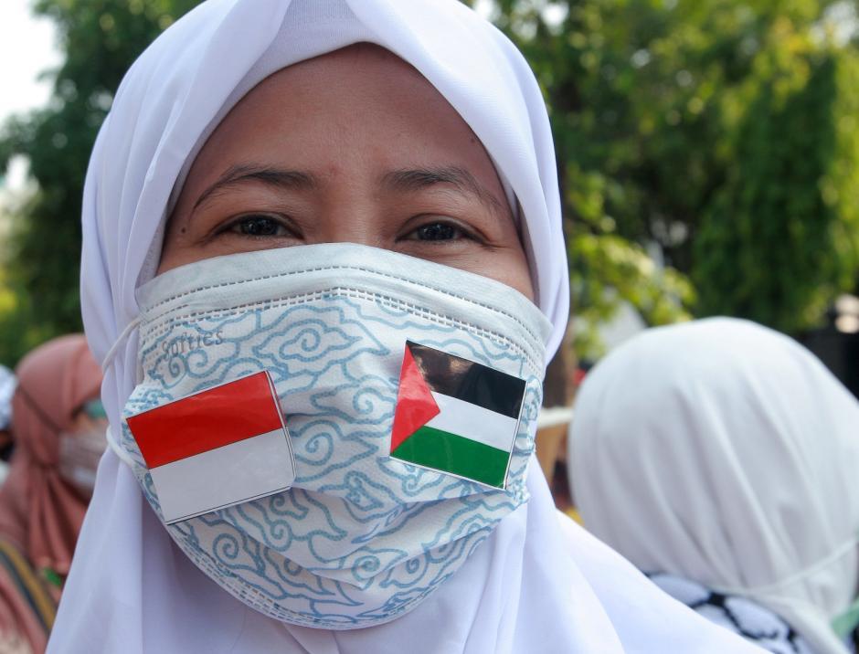 Ratusan Warga Semarang Gelar Aksi Simpatik Peduli Palestina-2