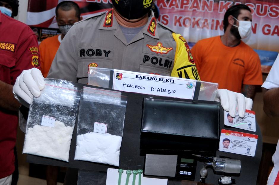 Tinggal di Bali Selama Pandemi Covid-19, WNA Italia Ini Malah Edarkan Kokain-0