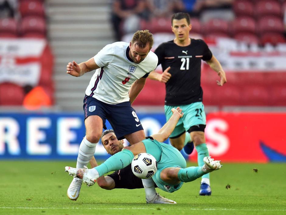 Laga Uji Coba: Inggris Tundukkan Austria 1-0-3