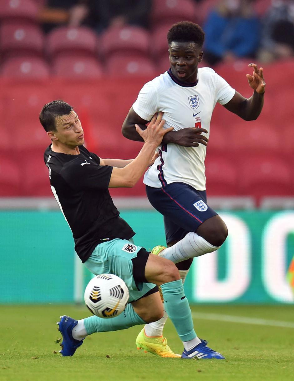 Laga Uji Coba: Inggris Tundukkan Austria 1-0-1