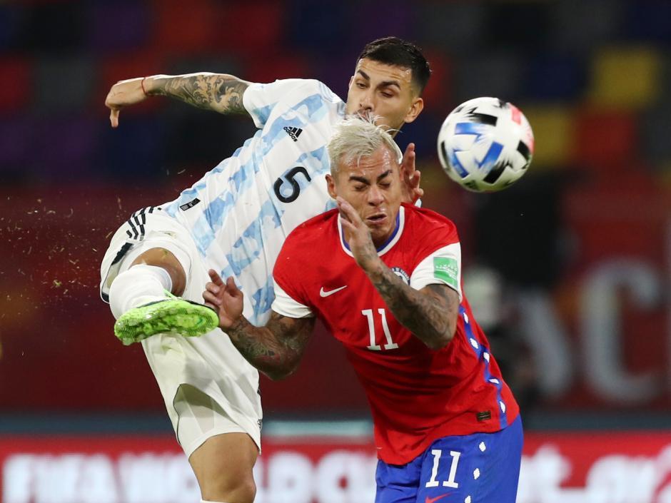 Kualifikasi Piala Dunia 2022: Argentina Tahan Chile 1-1-2