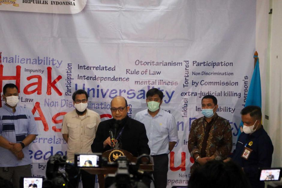 Serahkan Bukti Tambahan, Novel Baswedan dan Perwakilan Pegawai KPK Kembali Sambangi Komnas HAM-1