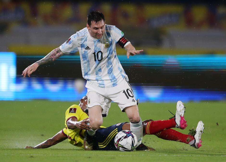 CONMEBOL: Kolombia Tahan Argentina 2-2-0