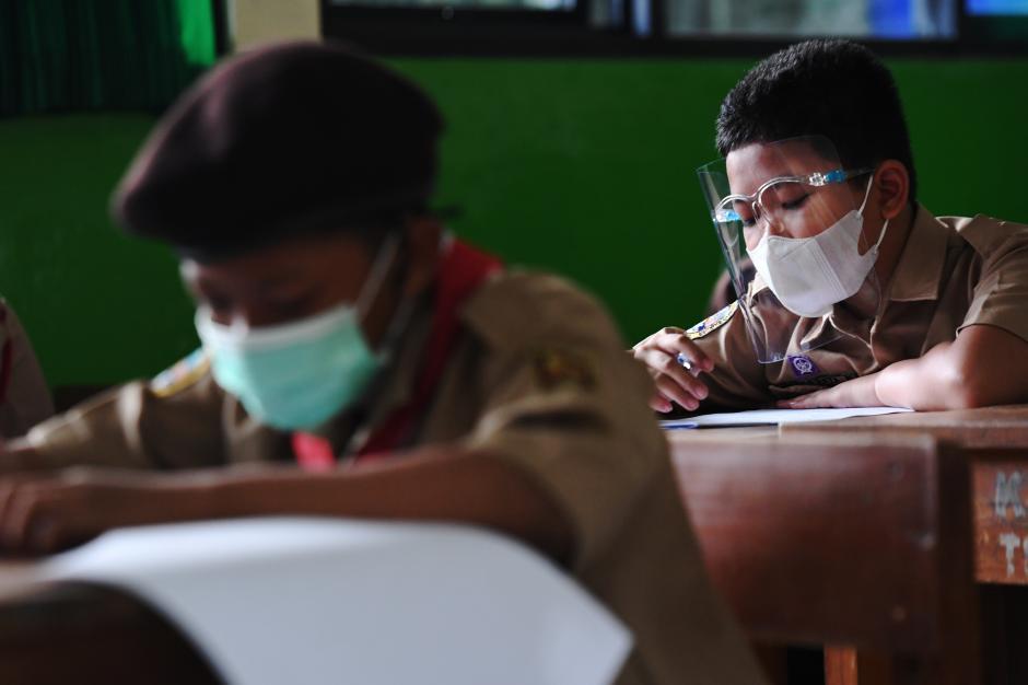226 Sekolah di Jakarta Gelar Uji Coba Pembelajaran Tatap Muka Tahap 2-0