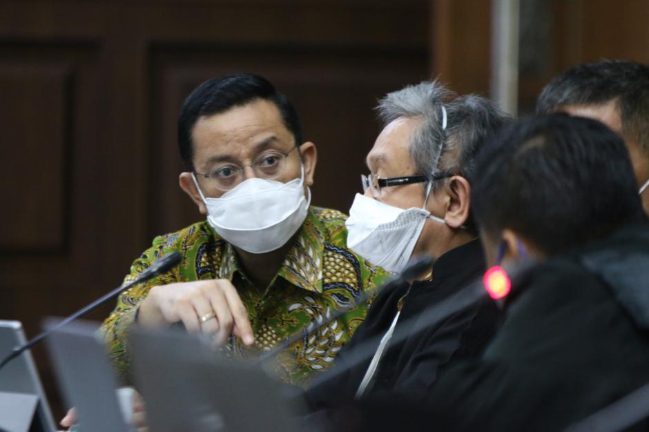 Sidang Lanjutan Juliari Batubara, JPU Hadirkan Sejumlah Saksi Vendor Bansos-0
