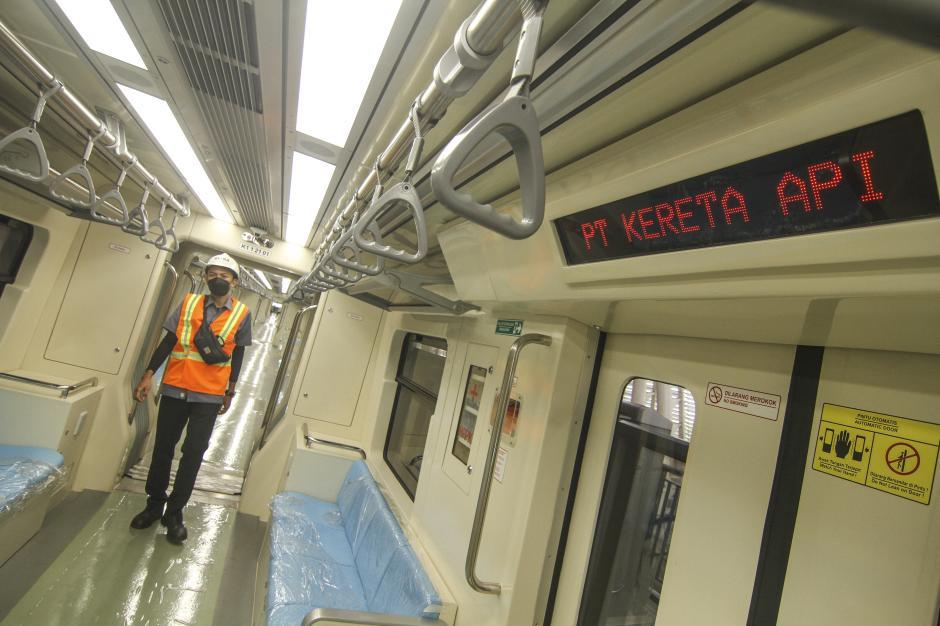 Target Ujicoba April 2022, Progres LRT Jabodebek Capai 84,7 Persen-1