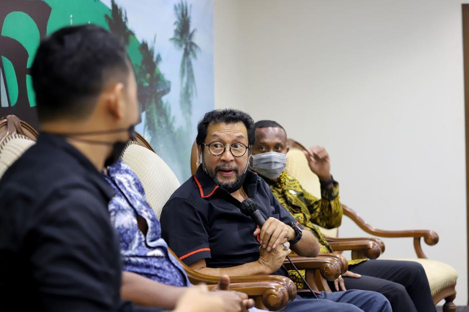 Diskusi Dialog Kenegaraan Bahas RUU Otsus Papua-0