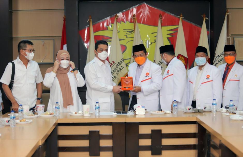 Kuatkan Silaturahmi Kebangsaan, PKS DKI Kunjungi Partai Gerindra DKI Jakarta-2