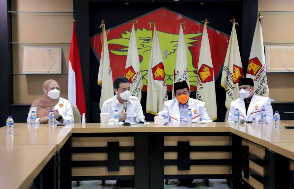 Kuatkan Silaturahmi Kebangsaan, PKS DKI Kunjungi Partai Gerindra DKI Jakarta-3