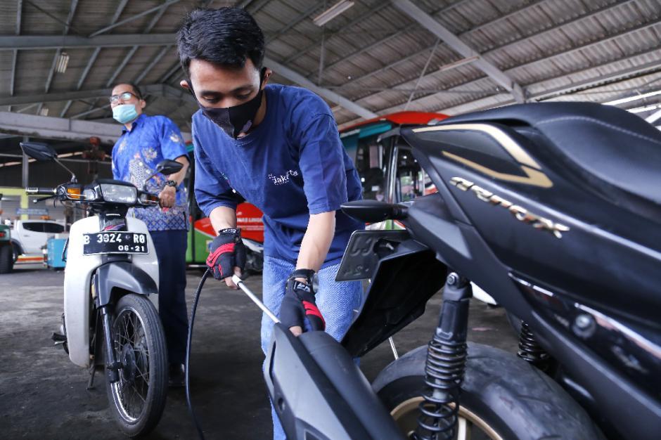Dukung Program Jakarta Langit Biru, DLH DKI Gencarkan Gelar Uji Emisi Gratis-5