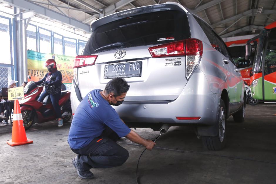 Dukung Program Jakarta Langit Biru, DLH DKI Gencarkan Gelar Uji Emisi Gratis-1