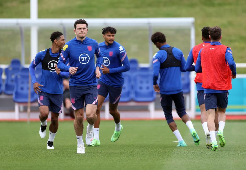 Kapten Man United Harry Maguire Kembali Bergabung di Latihan Timnas Inggris-0