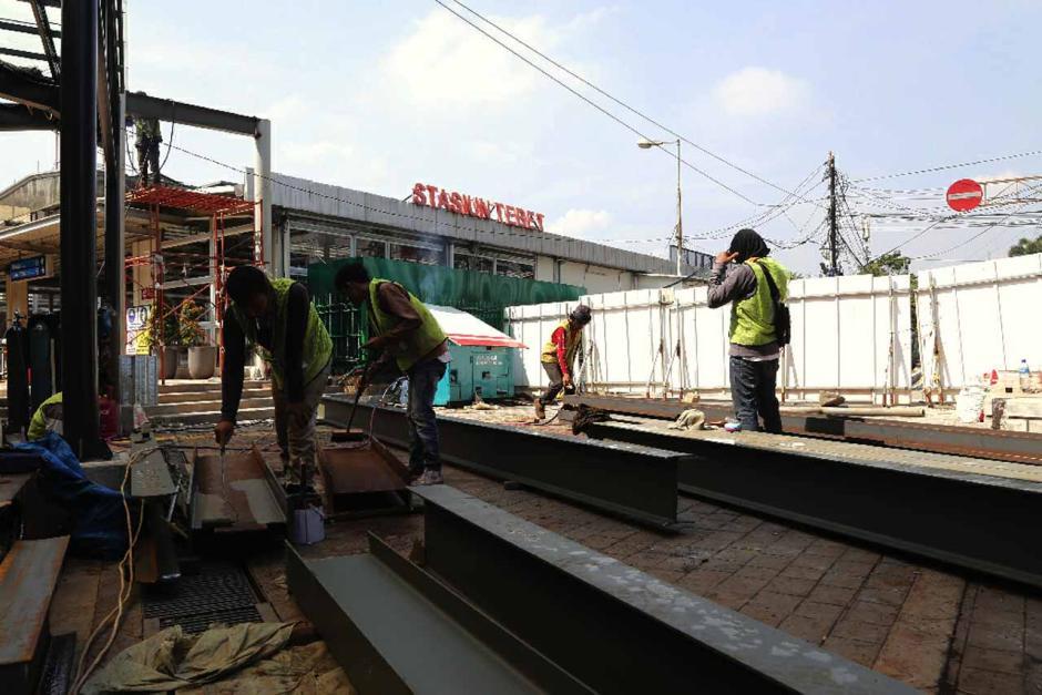 Penataan Terintegrasi Stasiun Tebet dan Halte Transjakarta-4